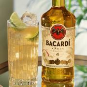Drink mit Bacardi Añejo Cuatro