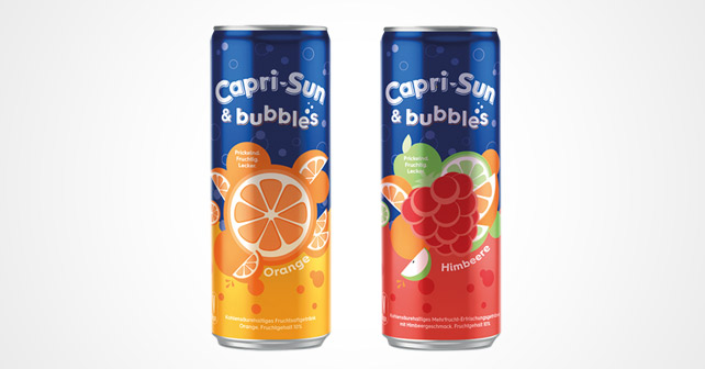 Capri-Sun & Bubbles Orange Himbeere
