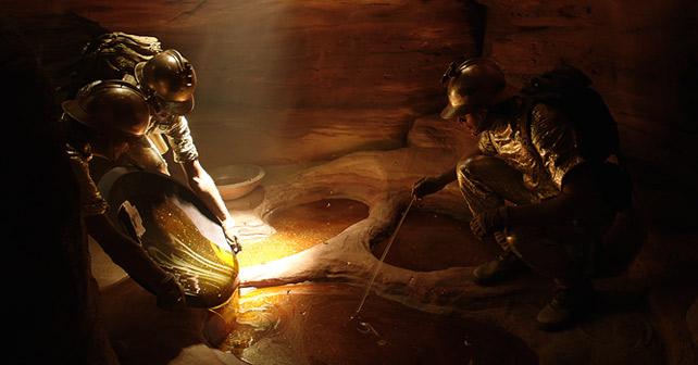 Szene aus Ridley Scotts Kurzfilm The Seven Worlds