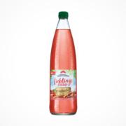 Flasche Lichtenauer Lieblingsfrüchte Rhabarber