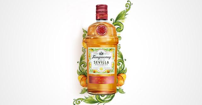 Tanqueray Flor de Sevilla Flasche