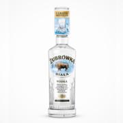 Żubrówka Biała Vodka Onpack mit Shotglas