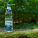 Eine Flasche ArthalQuelle im Grünen
