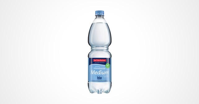 Bad Dürrheimer Mineralbrunnen PET-Flasche aus Recyclat