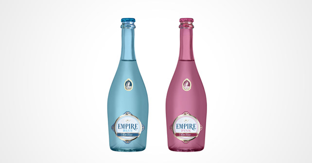 EMPIRE Gin-Tonic Pink und Blue