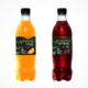 Green cola Limonaden kirsche und orange