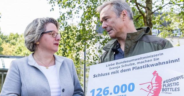Hannes Jaenicke und SodaStream