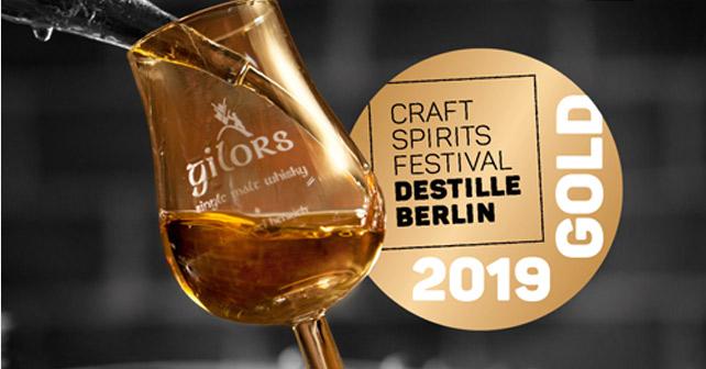 Krifteler Gilors Single Malt Whisky Gold