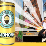 Madmonk cold brew coffee lemonade dose