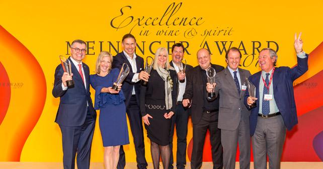 Meininger Award Excellence in wine & spirit 2019