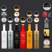 NORTH SEA SPIRITS Flaschen mit Auszeichnung