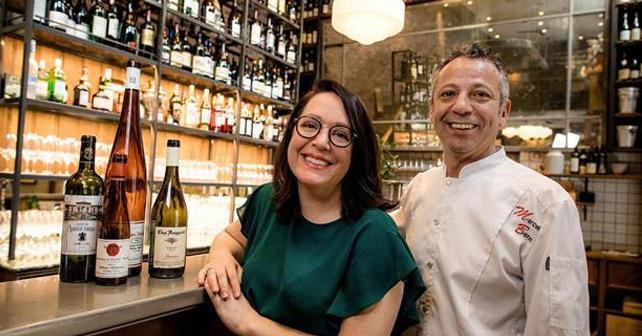 Rienne Bilz und Andreas Quartier