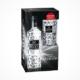 Three Sixty Vodka Premium Glas Geschenkbox