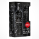 Three sixty vodka onpack schwarzes Glas