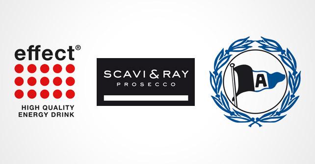 effect® SCAVI & RAY Arminia Bielefeld Logos