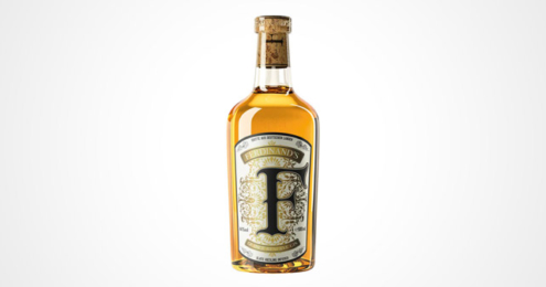 Flasche des Ferdinand's Saar Quince Reserve Gin