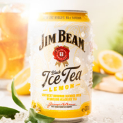 Jim Beam Black Ice Tea Lemon Dose