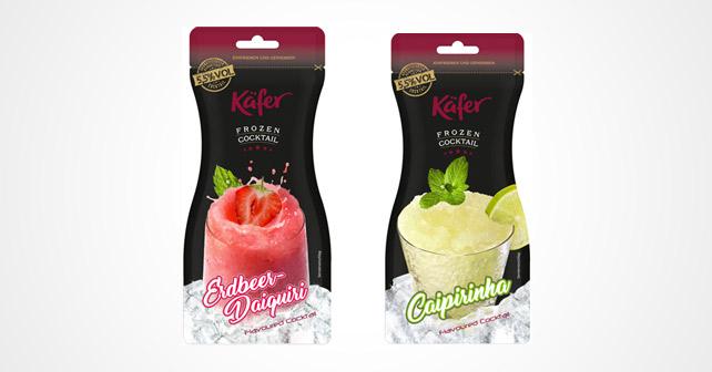 Käfer Erdbeer Daiquiri und Caipirinha Packungen