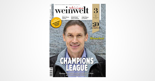 Weinwelt Jubiläums Cover