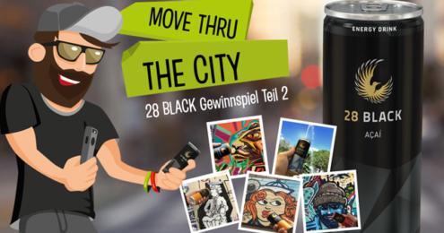 28 BLack move thru the city Plakat
