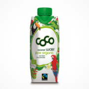 Coconut water Tropendesign 2019 Flasche