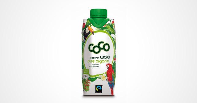 Coconut water Tropendesign 2019 Flasche