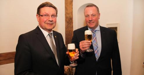 Walter Bauer und Peter Peschmann