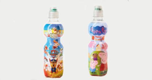 Kindergetränk peppa wutz und paw patrol