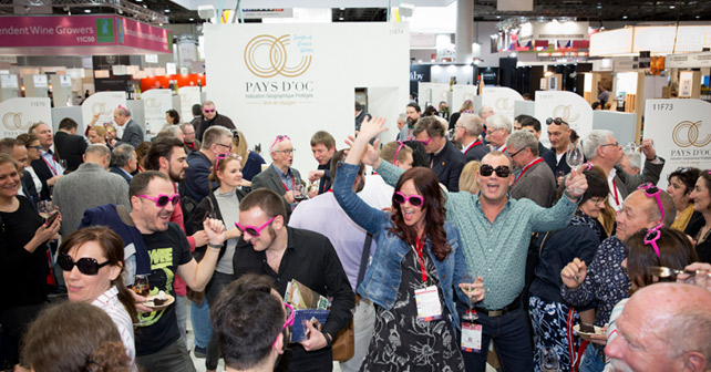 Pays D'OC Prowein 2019 Messestand