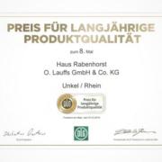 Rabenhorst DLG 2019 Auszeichnung