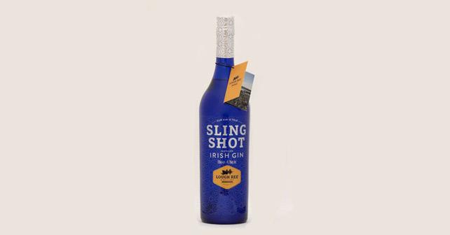 Sling Shot Gin Flasche