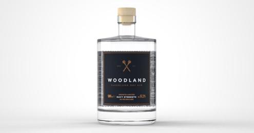 Woodland Navy Strength Flasche