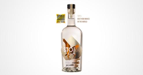 Stork Club Whisky Flasche