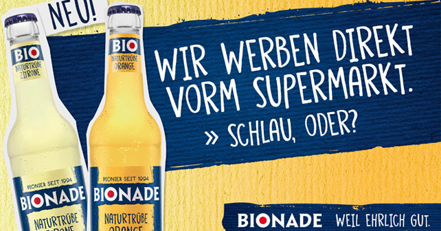 Bionade Werbeplakat