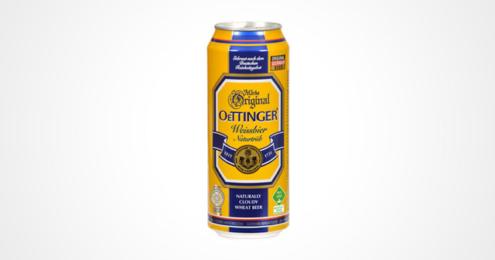 oettinger weißbier dose