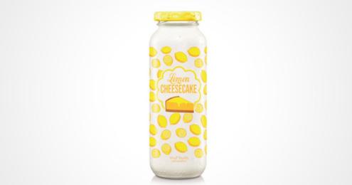 true fruits lemon-cheescake Flasche