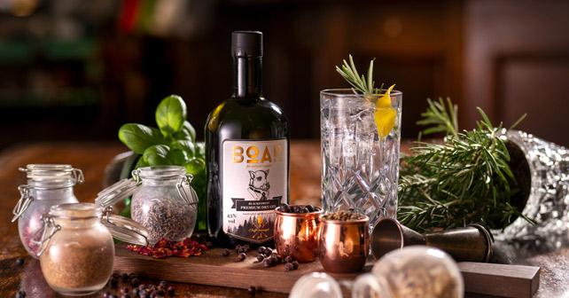 BOAR Gin | ausgezeichnet bei mehreren Wettbewerben | about