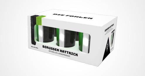 Borussen-Hattrick 6er Pack Trendshot