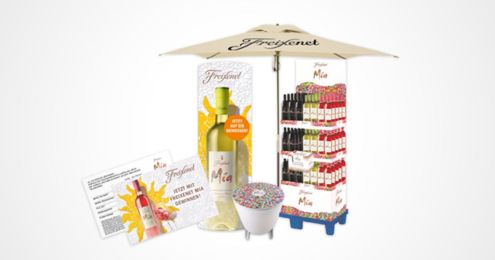 Freixenet Sunshine celebration