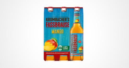 Krombachers Fassbrause Mango