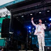 Lübzer NDR-Sommertour Bühne