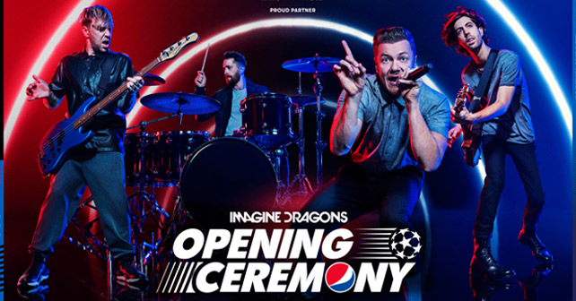 Pepsi Imagine Dragons