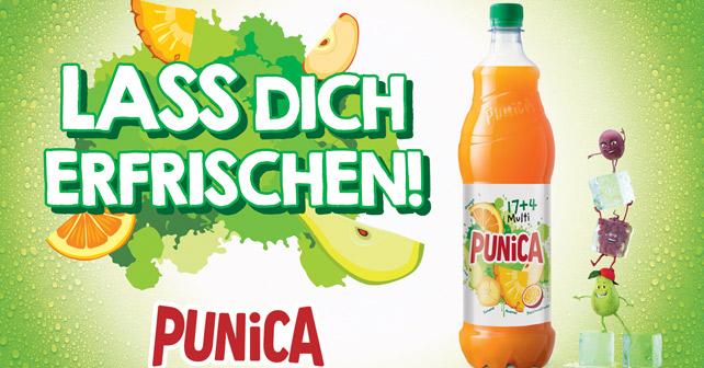 Punica Lass dich erfrischen Kampagne