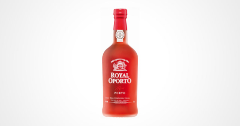 Royal opoprto Rose Flasche