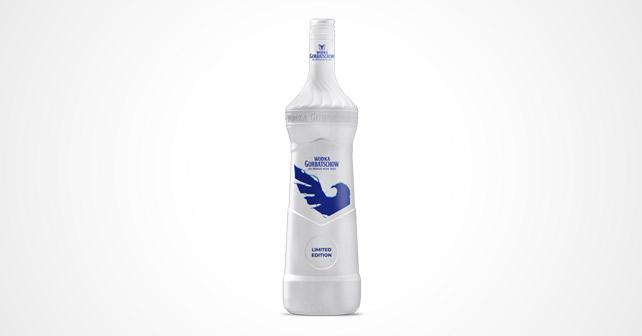 Wodka Gorbatschow Eisbruch Flasche