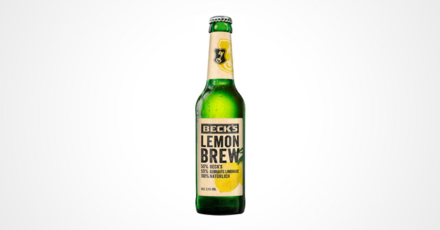 Beck's Lemon Brew
