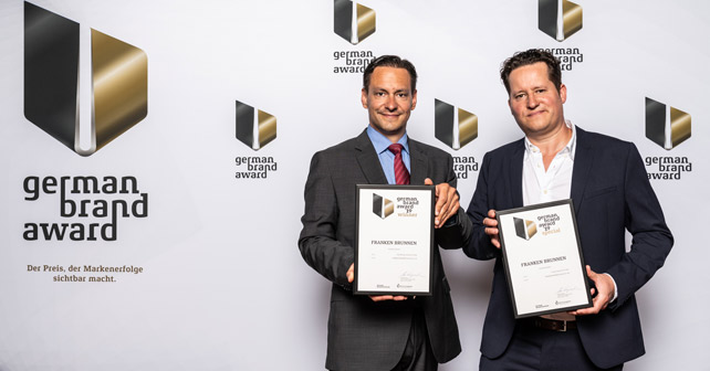 Franken Brunnen German brand award 2019