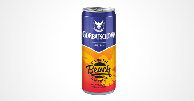 Gorbatschow Sex on the beach Dose