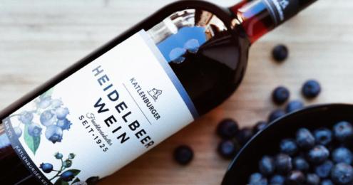Katlenburger Heidelbeer Wein