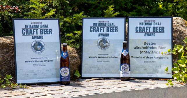 Maisel's Craft Beer Auszeichnung